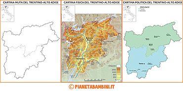 Cartina Fiumi Trentino Alto Adige Visitdolomitiinfo